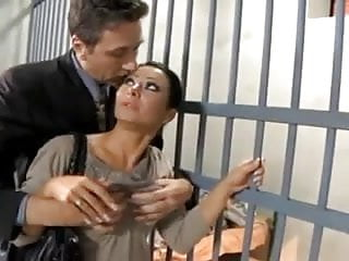 Girl gets fucked in jail - French sandra fucked in jail