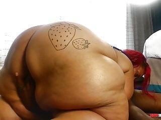 Redbone bbw porn Mrstixx bangs a redbone bbw mom with amonster ass