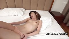 Korean massage slut gets fucked by Japanese dude