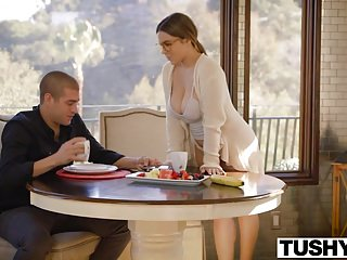 Anal firewoman Tushy first anal for curvy natasha nice