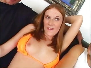 Ginger anal movies Amazing ginger anal threesome