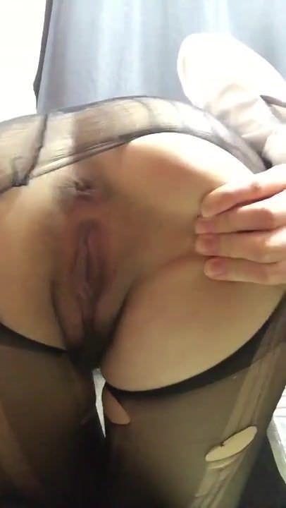 Korean girl shows pussy