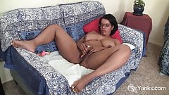 Yanks Honey Natalia Johnson Fucks Her Vibrator