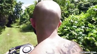 Hairy big ass for huge big cock