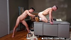 FistingCentral - Mature Hunks' Dick Sucked While Fisted