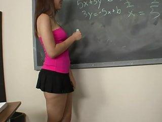 Hot teacher nude videos - Naughty schoolgirl fucks her hot teacher after class