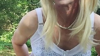 Shemale Milf Outdoor