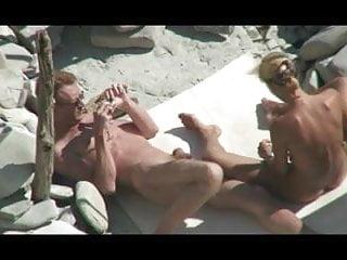 Bisexual public beach sex - Voyeur on public beach sex