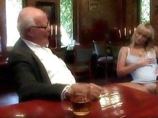 Man fuck his cow - Old man fuck his young wife in restaurant