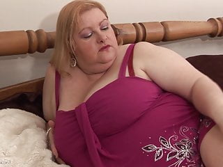 Mature british women Fat busty women playing with herself