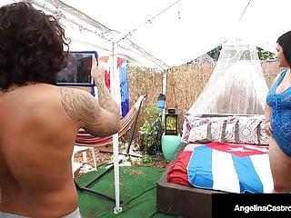 Fat dick penis enhancer Dick milking cuban cock sucker angelina castro pleases penis