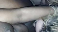 lucky guy fuck his girlfriend and her friend threesome