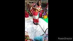 Indian crazy women funny dancing fleshing boobs