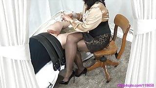 Femdom Mistress Penis Sounding