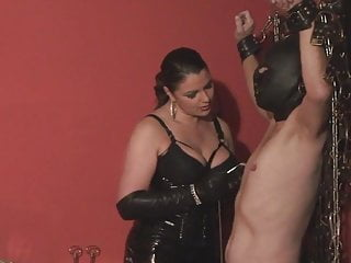 Piss leather - Leather opera gloved-lady asmondena-whips again hd