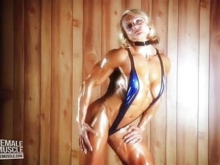 Female muscle porn tube - Huge female bodybuilder brigita brezovac hot female muscle