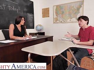 Rachel starr bad ass tube Naughty america rachel starr shows student how to please
