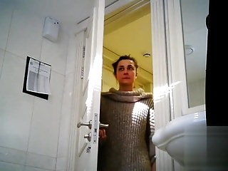 Pissing in the toilet - Pissing your wife in the toilet