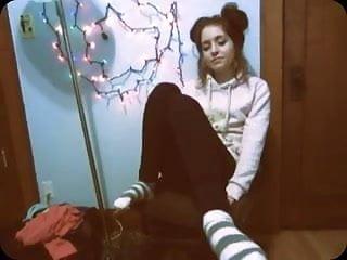 Teen socks cum - Smelly teen socks