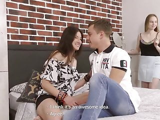 L free lesbian threesome videos - Lisa l and kamilla hot threesome