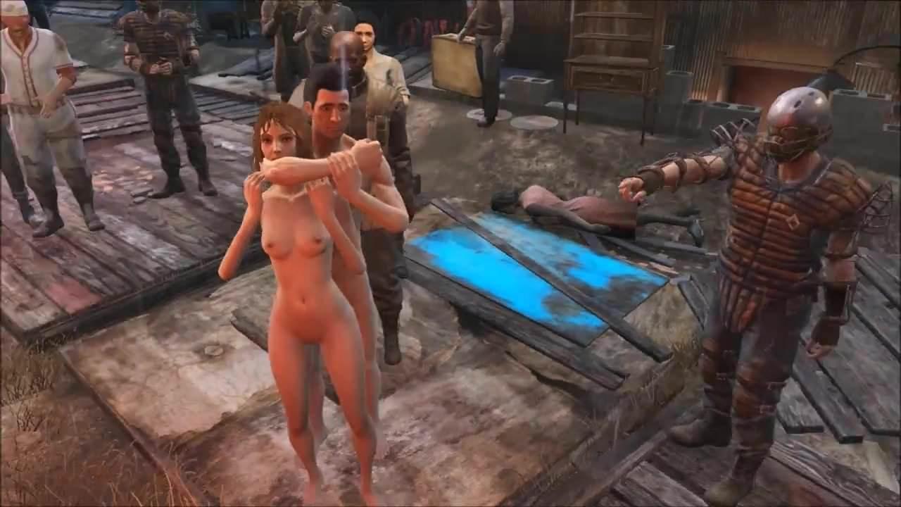 4 Porn Ganbang fallout 4 public gangbang at diamond city