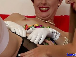 Mature lesbian oral sex Classy matures lesbian oral pleasuring