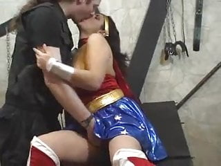 Wonder woman comic beach towel vintage Mellie d as wonder woman gets fucked