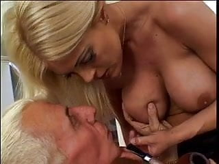 Wifes that fuck men in the ass with strap-on Busty blonde babe strap-on fucks her man, then takes his cock in the ass