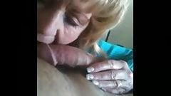 Hot Amateur Mature CFNM Handjob Cum Lick