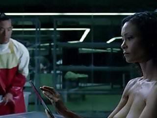 Thandie newton lingerie - Thandie newton -westworld s1e8