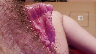 Big Clit Lesbian Fucks Fake Pussy