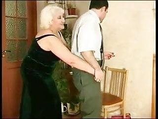 Mother helps son jerk off - Mature helps her man jerk off r20