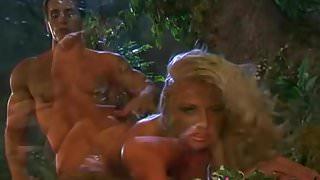 Bobbi Eden Natural Blonde Gets Stuffed Outdoors!