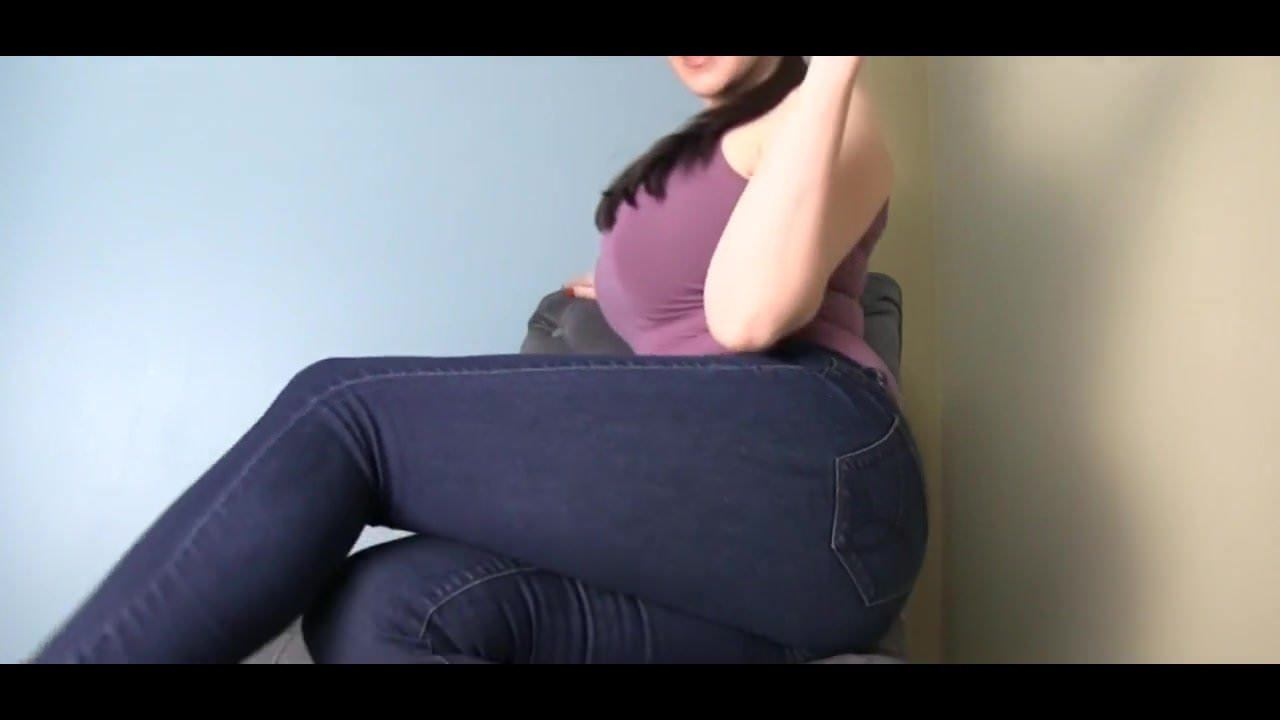Big Ass Tight Jeans Anal