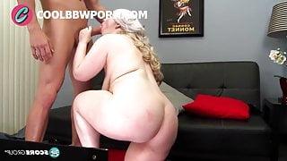 big ass blonde gets anal