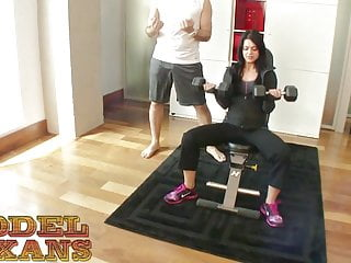 Spring thomas facials Petite rebecca thomas enrolls in steve awesomes tex sex gym