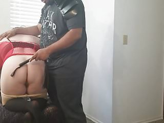 Black master white slave bdsm - White wife flogged by black master