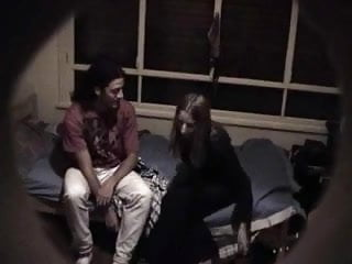College teen voyeurism College teen gets fucked on hidden cam