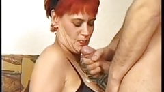 Grannies  loves younger men's cum