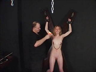 Bondage small tits movie - Hot wax on small tits