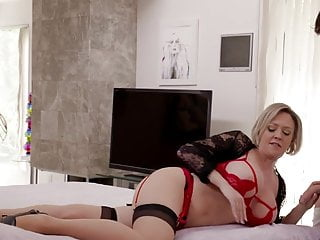 Australian lingerie designers - Sexy stepmom in lingerie dee wiliams gets ramed a big cock