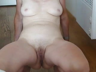 Spread my lose pussy Spread my hairy pussy and show my tits