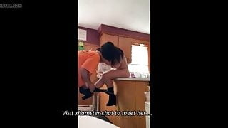 Mom is alone and gets fucked by plumber