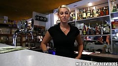 Public Pickups - HOT Czech bartender paid for quick fuck