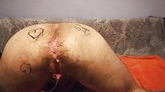 !!WOWW!! FTM deep farting anal orgasms