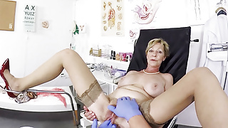 big boob hairy 79 years old step mom fucked by her doctor