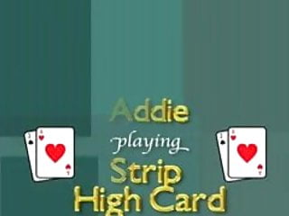 Card magnetic strip without Paris, ashley, and addie play strip high card