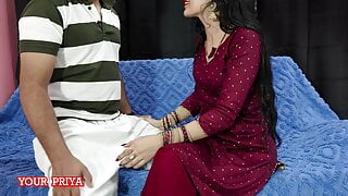 Priya requestes her devar to show his cock with hindi audio