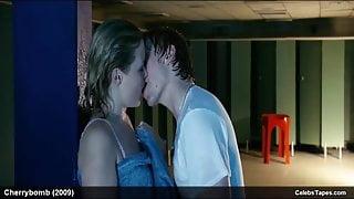 Celebrity Kimberley Nixon Wet Lingerie & Sexy Movie Scenes