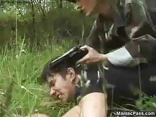 Army wives facials Army slut fucking maneuvers
